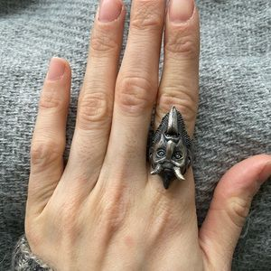 Devil Ring by Theeth Jewelry